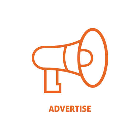 advertise: advertise Illustration