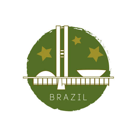 congress: national congress of brazil Illustration