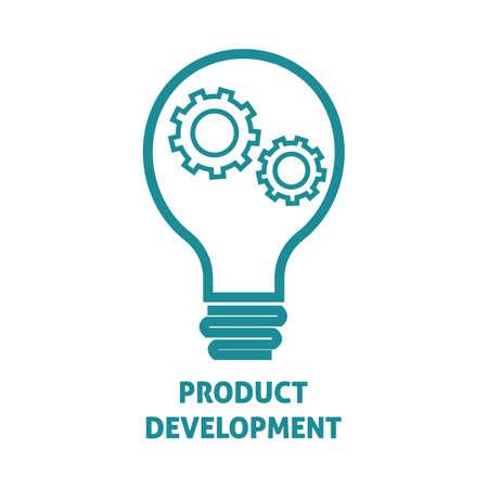 product ontwikkeling Vector Illustratie