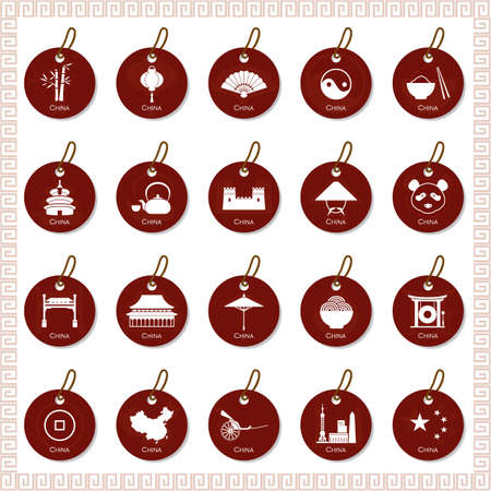 lanna: set of china tags