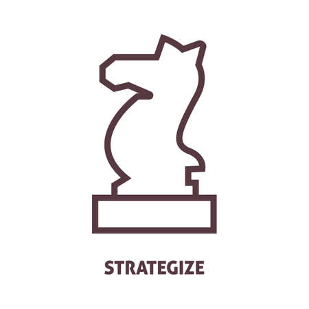 strategize: strategize Illustration