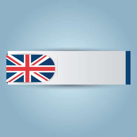 kingdom: united kingdom banner Illustration