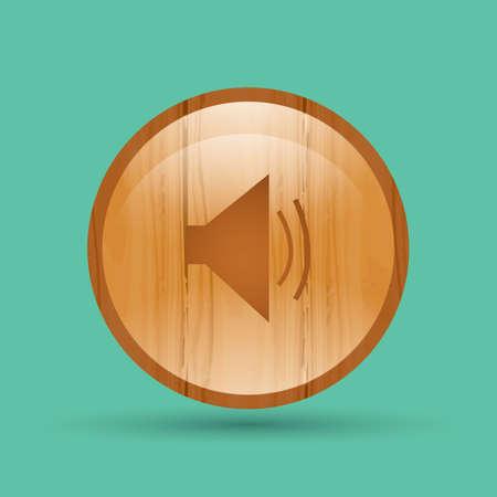 the icon: volume icon Illustration