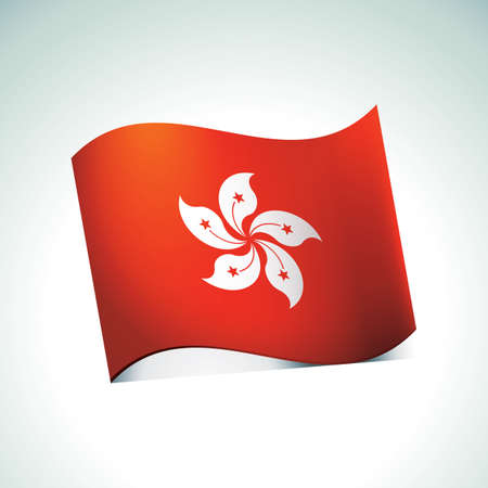 hongkong: hong kong flag sticker