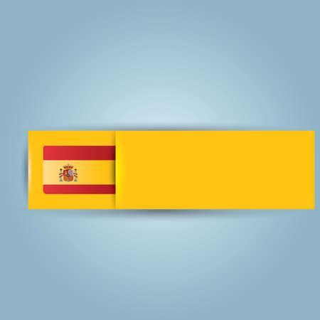 spain flag: spain flag banner