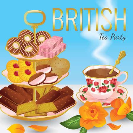 bourbon: british tea party