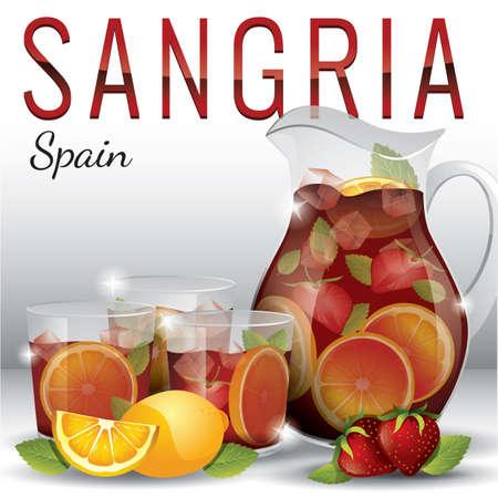 sangria Illustration