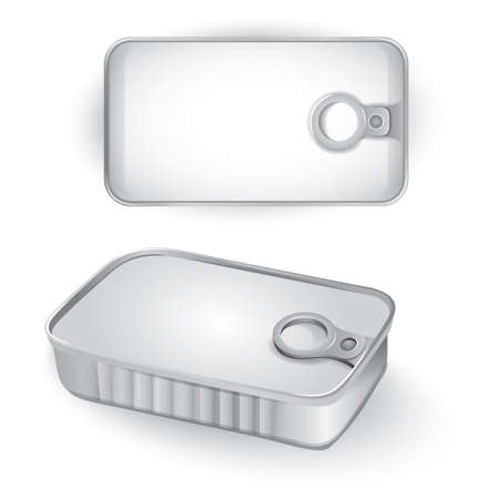 tin: tin can conserve metallic box