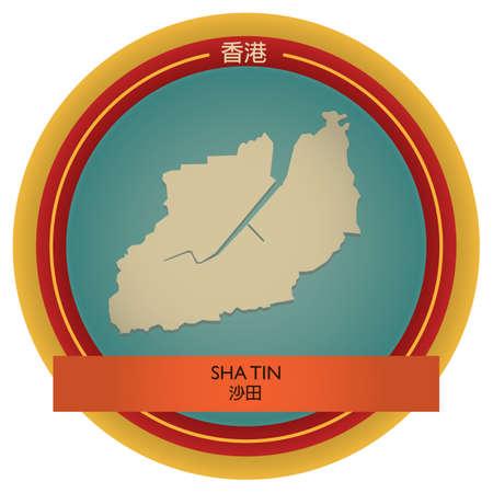 tin: sha tin map label