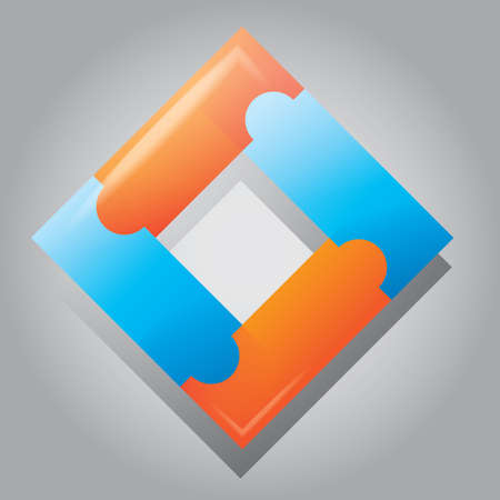 the icon: abstract icon Illustration