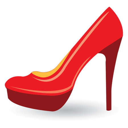 high heel shoe: high heel shoe Illustration