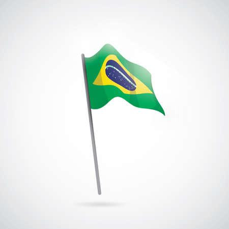 brazil flag: brazil flag