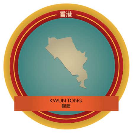 tong: kwun tong map label
