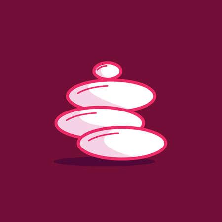 zen stones: zen stones Illustration