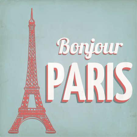 bonjour: bonjour paris