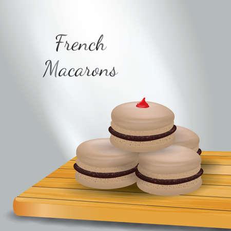 macarons: french macarons