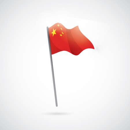 china flag: china flag