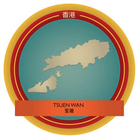 wan: tsuen wan map label