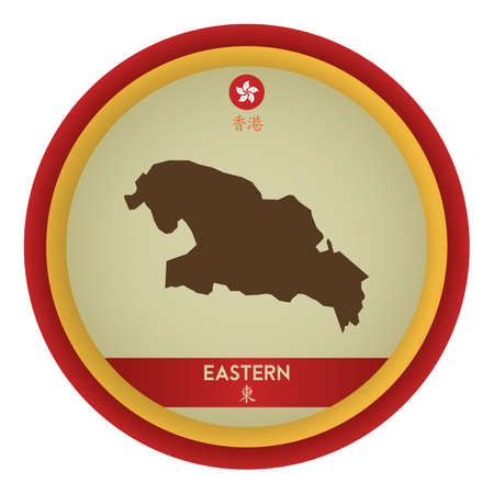 eastern: eastern map Illustration
