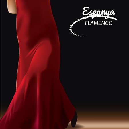 espanya: espanya flamenco Illustration