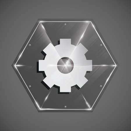 settings icon: settings icon Illustration
