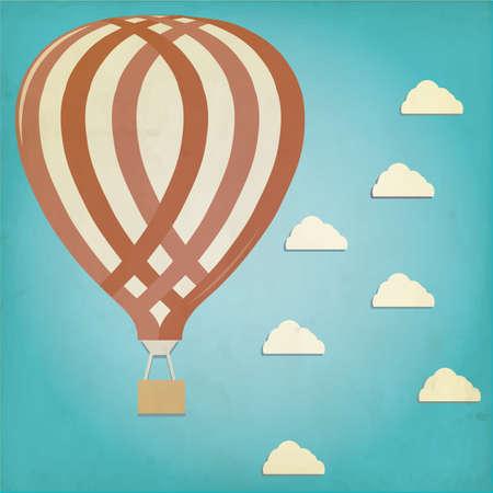 ballooning: hot air balloon