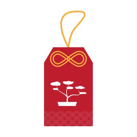 bonsai: tag with bonsai tree