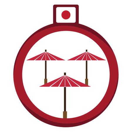 foldable: japanese umbrella