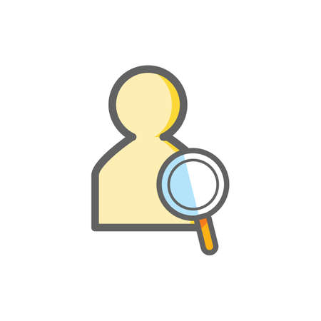 contacting: search contacts icon