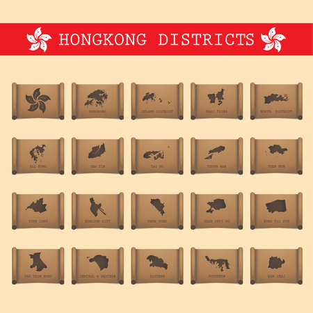 sha: set of hong kong district