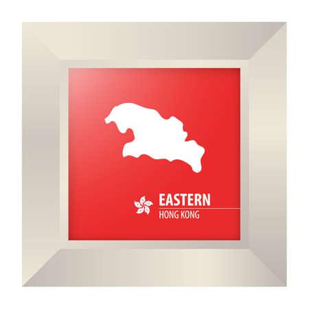 eastern: map of eastern hong kong