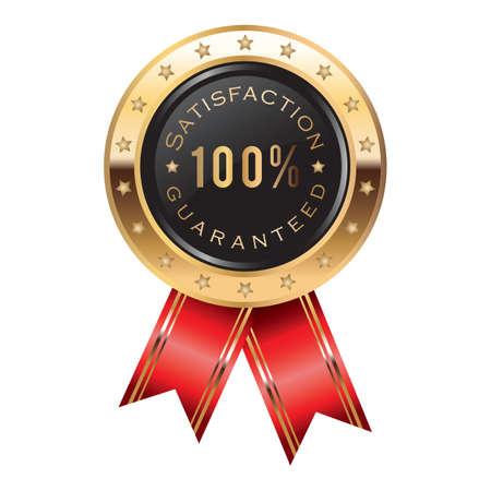 satisfaction guaranteed: satisfaction guaranteed badge