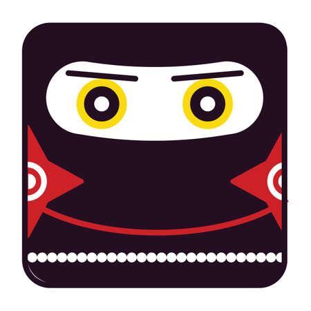 face covered: ninja