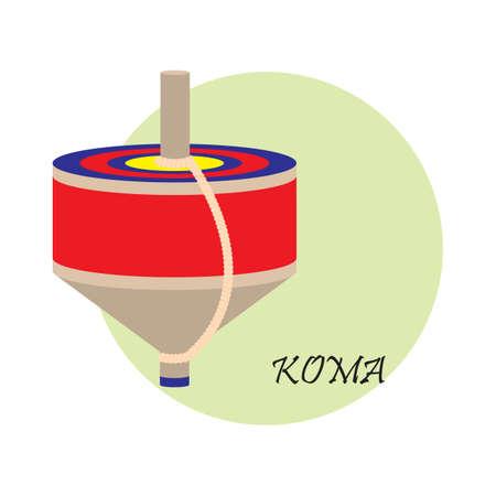 japenese: koma