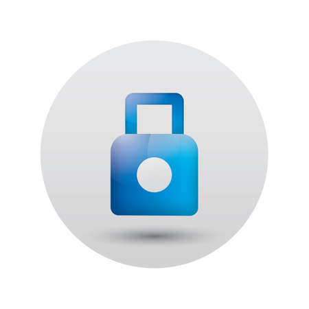the icon: lock icon