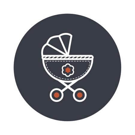 perambulator: perambulator Illustration