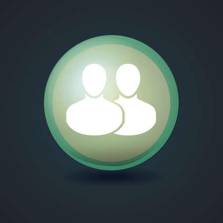 contact: contact icon