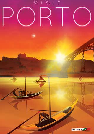 rabelo: visit porto poster