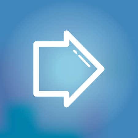 flecha derecha: icono de flecha derecha