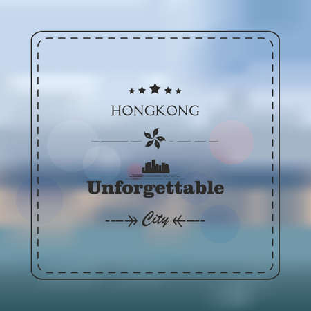 hong kong  unforgettable background