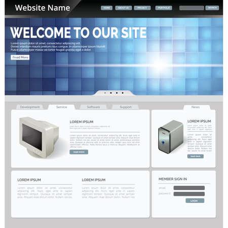 website: website page