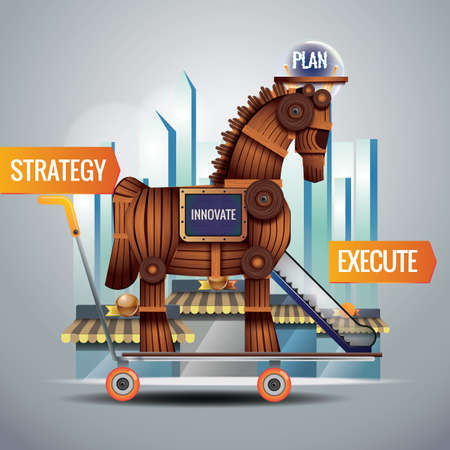 execute: business strategy concept