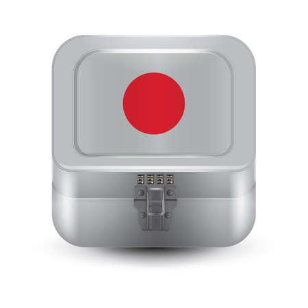 buckles: box with japan flag