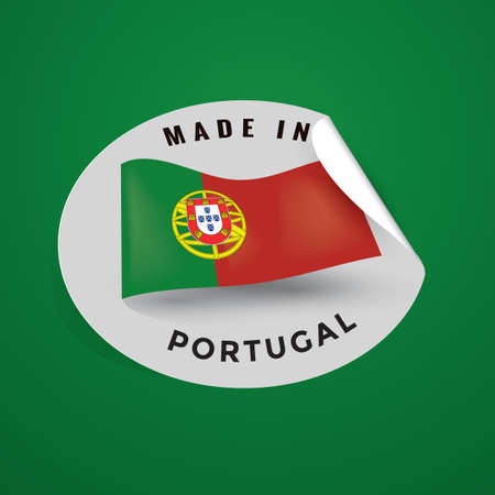 authenticity: made in portugal Illustration