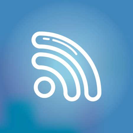 podcasting: podcast icon Illustration