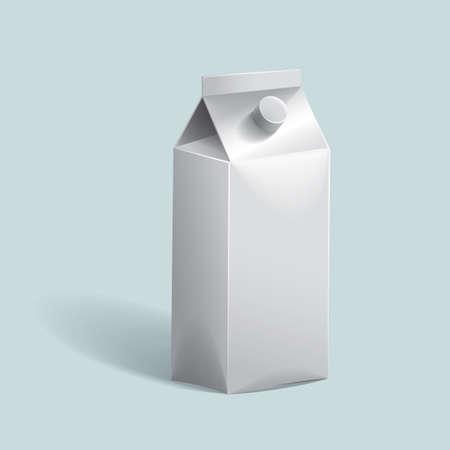 packets: milk carton