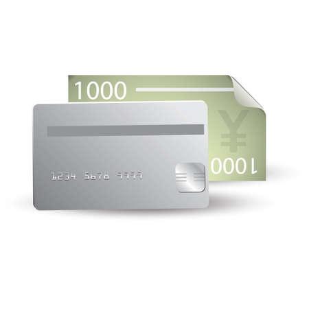 yen note: yen note and money card