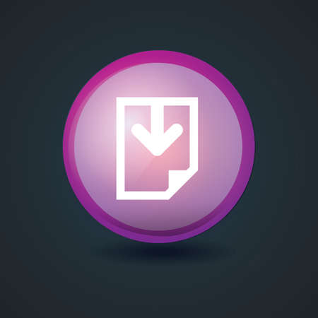 download icon: download icon Illustration
