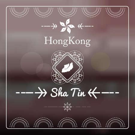 tin: map of sha tin