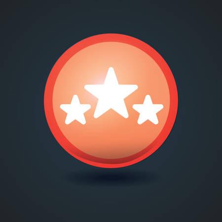 rating: rating icon Illustration